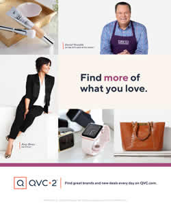 QVC tune in ad